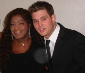 Michael Buble and Concetta
